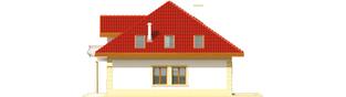 Projekt domu Areta G2 - elewacja prawa