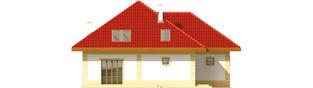Projekt domu Areta G2 - elewacja tylna