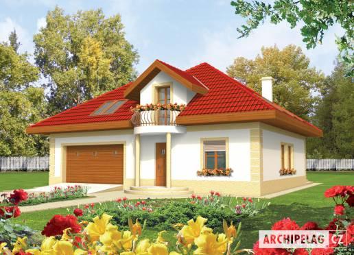 Projekt rodinného domu - Aranka