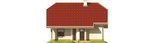 Projekt domu Oliwka G1 - elewacja tylna