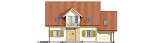 Projekt domu Marisa G1 ENERGO - elewacja frontowa