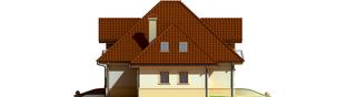 Projekt domu Frank G1 - elewacja lewa