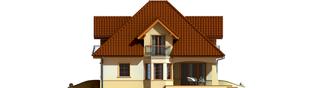 Projekt domu Frank G1 - elewacja prawa