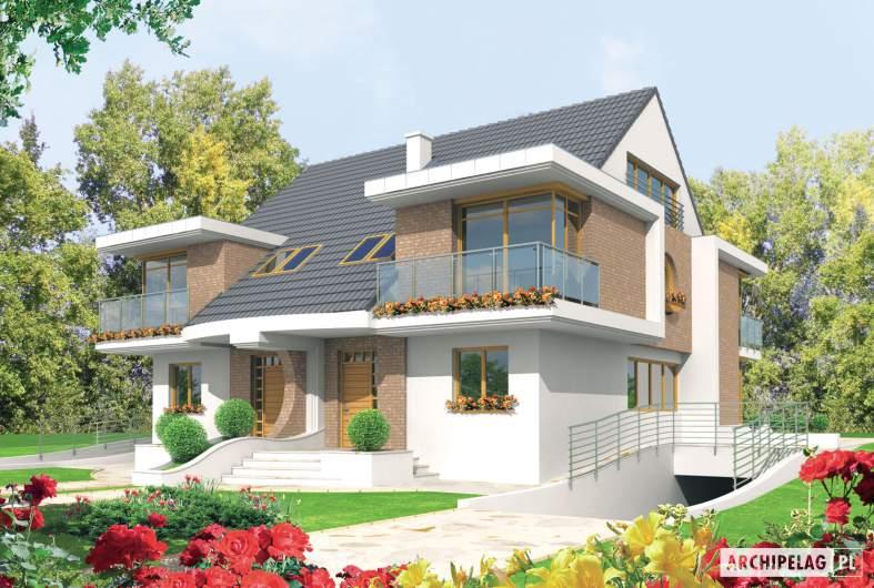 Projekt domu Błażej G2 - wizualizacja frontowa