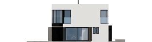 Projekt domu EX 2 G1 ENERGO PLUS - elewacja lewa