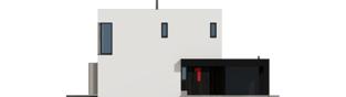 Projekt domu EX 2 G1 ENERGO PLUS - elewacja frontowa