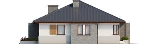 Projekt domu Lucjan G1 Leca® DOM - elewacja lewa