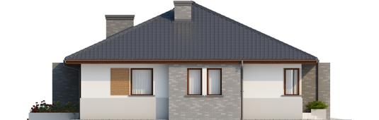 Луціан (Г1) - Projekt domu Lucjan G1 Leca® DOM - elewacja lewa