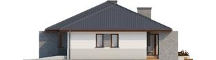 Projekt domu Lucjan G1 Leca® DOM - elewacja prawa