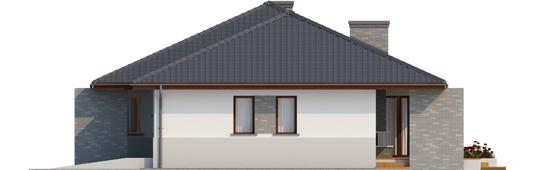 Луціан (Г1) - Projekt domu Lucjan G1 Leca® DOM - elewacja prawa