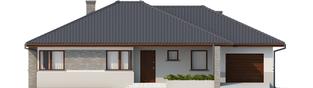 Projekt domu Lucjan G1 Leca® DOM - elewacja frontowa