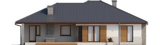 Projekt domu Lucjan G1 Leca® DOM - elewacja tylna