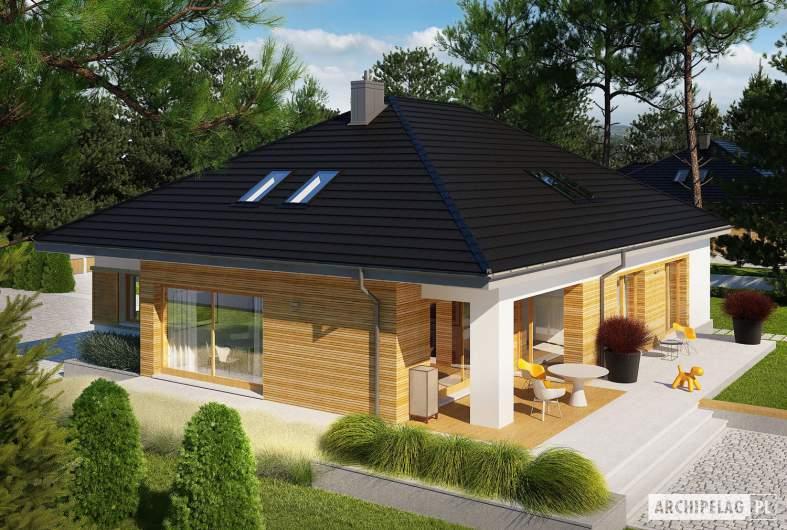 Projekt domu Marcel III G2 ENERGO PLUS - widok z góry