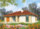 Projekt rodinného domu: Ola (e. II)