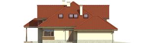 Projekt domu Naomi II G2 - elewacja lewa