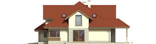 Projekt domu Naomi II G2 - elewacja prawa