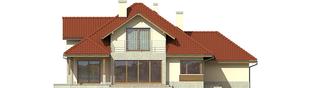Projekt domu Naomi II G2 - elewacja tylna