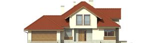 Projekt domu Naomi II G2 - elewacja frontowa