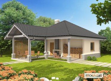 Projekt: Budynek gospodarczy G25