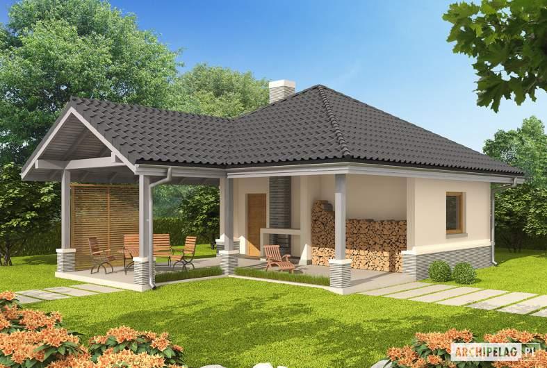 Projekt domu Budynek gospodarczy G25 - Budynek gospodarczy G25 - wizualizacja