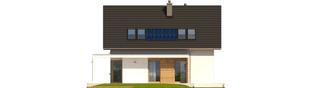 Projekt domu Liv 1 Leca® DOM - elewacja tylna