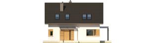 Projekt domu Liv 1 Leca® DOM - elewacja frontowa