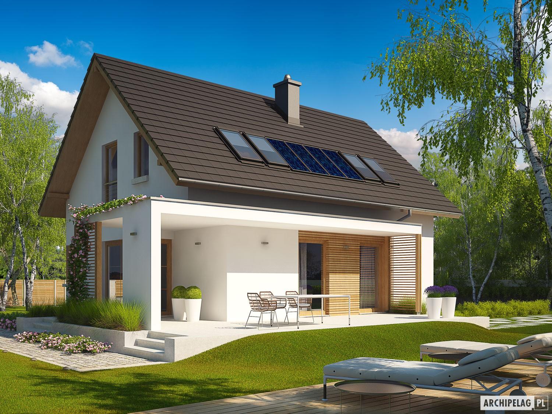 Liv 1 leca dom projekt domu archipelag - Design case moderne ...
