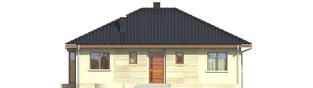 Projekt domu Margo (30 stopni) - elewacja lewa