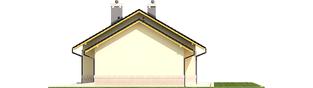Projekt domu Erin II G1 - elewacja prawa