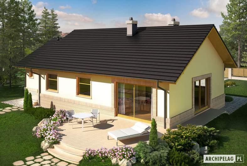 Projekt domu Erin II G1 - widok z góry
