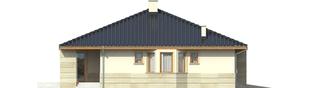 Projekt domu Flori II G1 - elewacja lewa