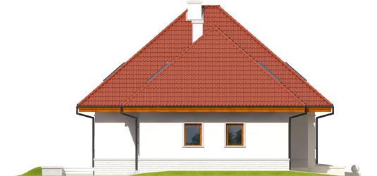Jared G1 - Projekty domów ARCHIPELAG - Jarek G1 - elewacja lewa