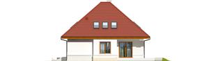 Projekt domu Jarek G1 - elewacja prawa