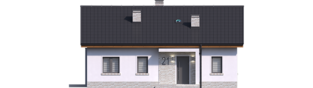 Projekt domu Mini 11 - elewacja frontowa