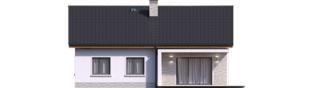 Projekt domu Mini 11 - elewacja tylna