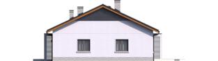 Projekt domu Mini 11 - elewacja prawa