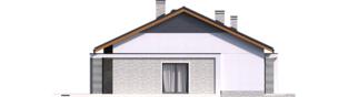 Projekt domu Mini 11 - elewacja lewa