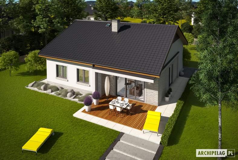 Projekt domu Mini 11 - widok z góry
