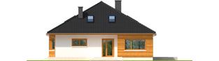 Projekt domu Liv 3 - elewacja frontowa