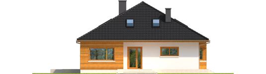 Liv 3 - Projekty domów ARCHIPELAG - Liv 3 - elewacja frontowa