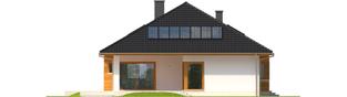 Projekt domu Liv 3 - elewacja tylna