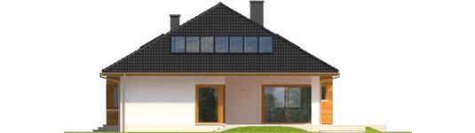 Liv 3 - Projekty domów ARCHIPELAG - Liv 3 - elewacja tylna