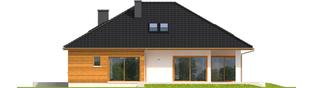Projekt domu Liv 3 - elewacja prawa