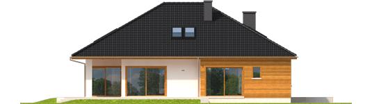 Liv 3 - Projekty domów ARCHIPELAG - Liv 3 - elewacja prawa