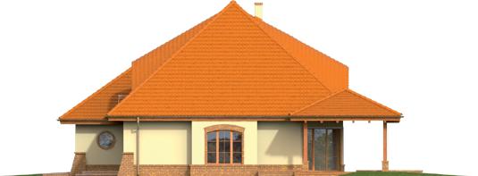 Severina M G2 - Projekt domu Seweryna (mała) G2 - elewacja prawa