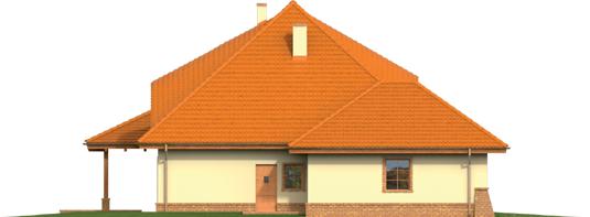 Severina M G2 - Projekt domu Seweryna (mała) G2 - elewacja lewa