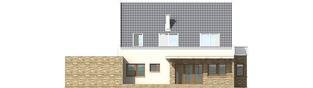 Projekt domu Gerda G2 - elewacja tylna
