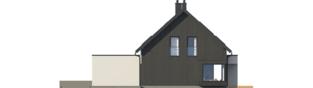 Projekt domu Malkolm G2 - elewacja prawa