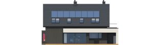 Projekt domu Malkolm G2 - elewacja tylna