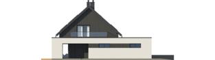 Projekt domu Malkolm G2 - elewacja lewa